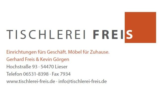 Logo Tischlerei Freis
