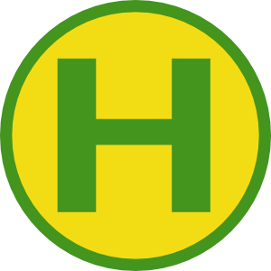Symbol Bushaltestelle