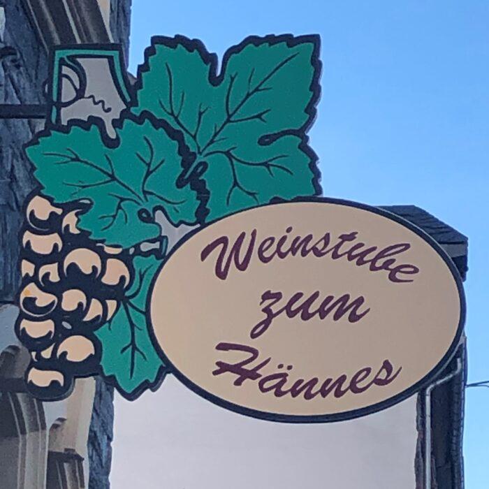 Logo Weinstube Zum Hännes