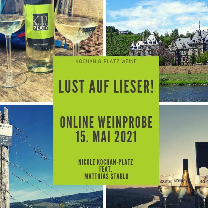 """Online Weinprobe """"Lust auf Lieser"""""""