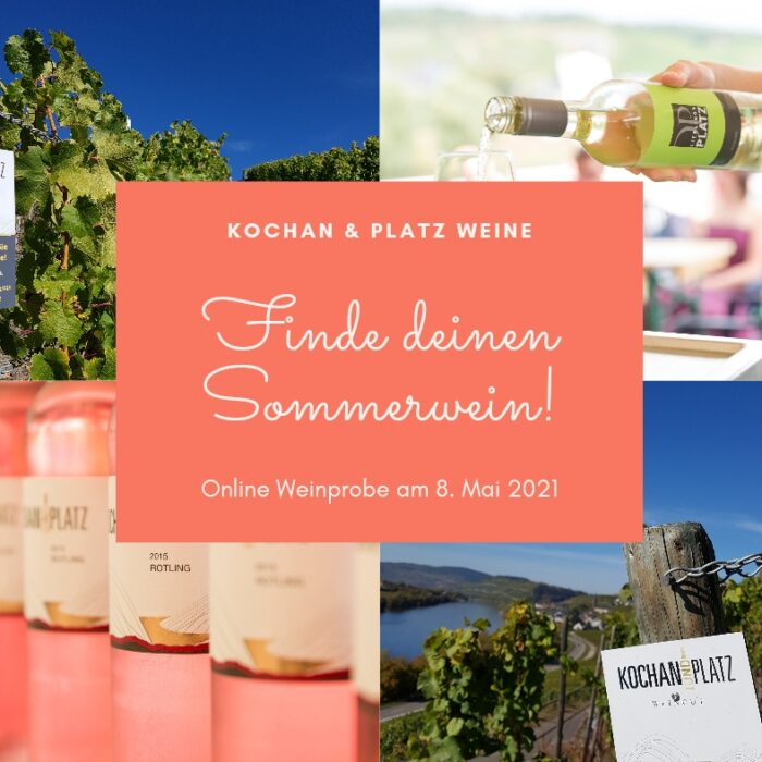 "Online Tasting ""Find your Summer Wine"""
