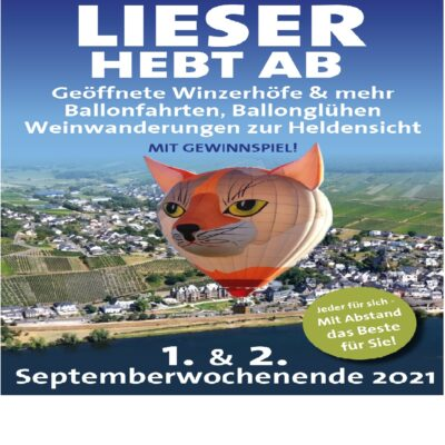 Poster Veranstaltung Lieser hebt ab